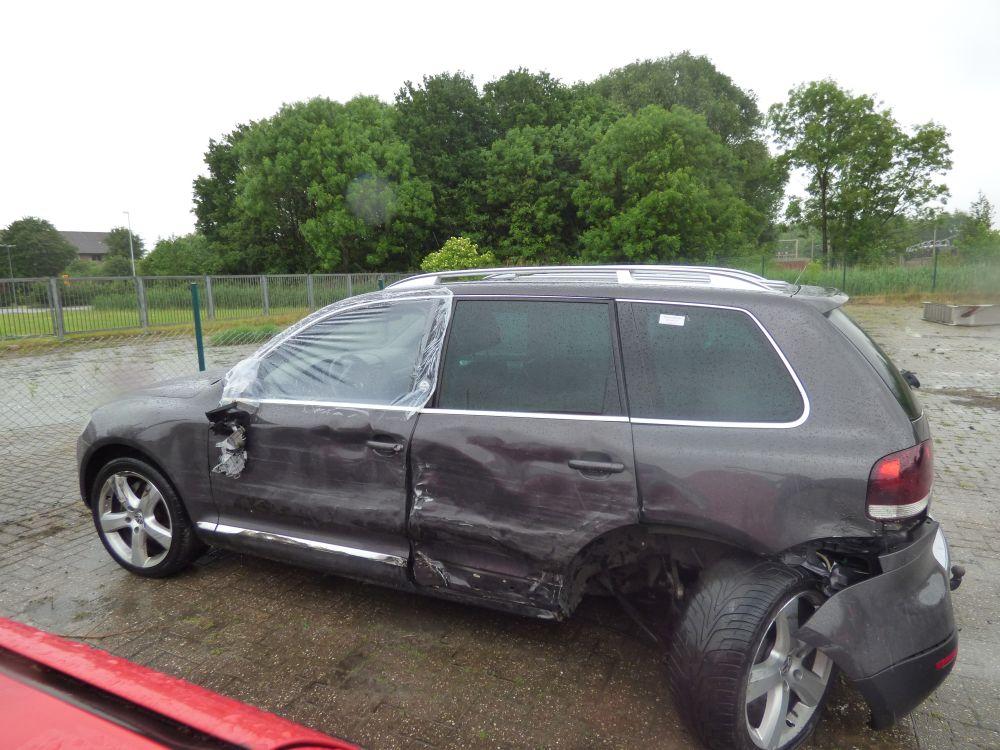 Massiver Unfallschaden an einem Touareg