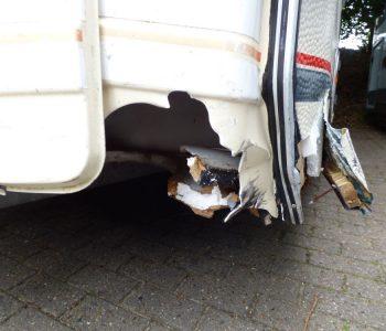 Unfallschaden Wohnwagen